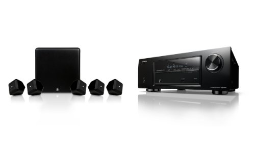 Denon Dht-E251Ba 5.1 Home Theater System With Boston Acoustics Speakers Bundle