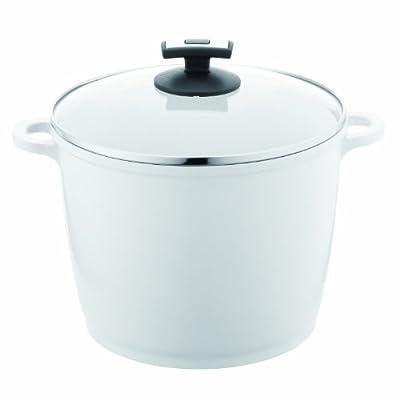 Berndes EcoFit Pearl Ceramic Coated Cast Aluminum 7-Quart Covered Stock Pot