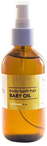 Limegreen Baby Oil - Sunflower - 3.75 oz