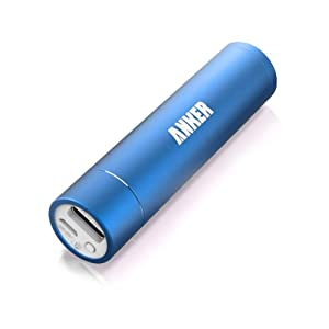 Anker Astro Mini 3000mAh 超小型・スティックタイプ モバイルバッテリー 3000mAh 5V/1A iPhone5S、5C、5、4S/iPad Air/iPad Mini Retina/iPad Mini/iPad/iPod/Galaxy/Xperia/ASUS/Android/各種スマホ Wi-Fiルータ等対応(日本語説明書付き)