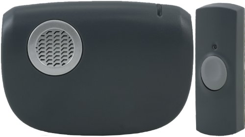 Ge Wireless Portable Door Chime With Beltclip 19240 front-425444