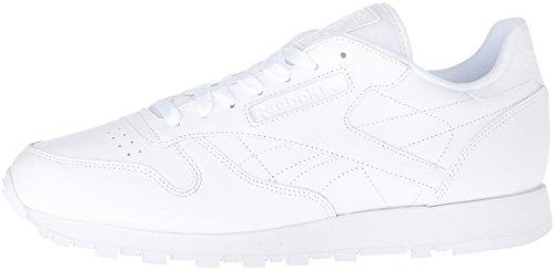 Reebok Men's Cl Lthr Fashion Sneaker, US-WHITE/White/White, 9 M US (Reebok Classic Mens Sneakers compare prices)