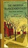 American Transcendentalists: Their Prose and Poetry (0844625957) by Miller, Perry