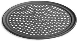 Lloyd Pans Perforated Pizza Tray Pre Seasoned Pstk Anodized