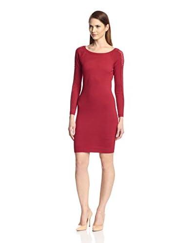 Marc New York Women's Lace Sleeve Dress