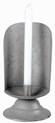 Esschert Design Usa Oz41 Old Zinc Candle Holder