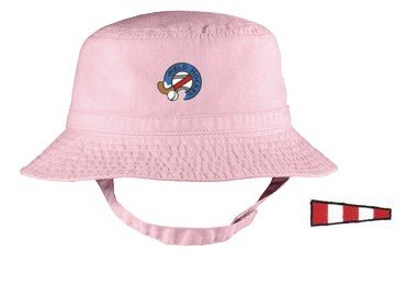 Embroidered Infant Bucket Cap with the image of: code
