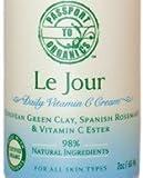 Vitamin C Cream - Organic with European Green Clay, Spanish Rosemary and Vitamin C Ester - Paraben Free!
