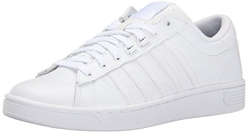 K-Swiss Women's Hoke CMF Casual Shoe, White/White, 7.5 M US