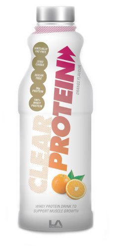 LA Muscle Clear Protein- Delicious Ready to Drink Protein - Orange Flavour