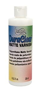 DecoArt DS60-9 American DuraClear Varnishes, 8-Ounce, DuraClear Matte Varnish at Sears.com