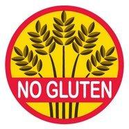 Allergy Alert Stickers - No Gluten - Set of 20 from Allergy Alert
