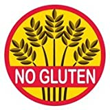 Allergy Alert Stickers - No Gluten - Set of 20