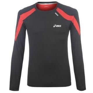Asics Long Sleeve Running T Shirt Mens