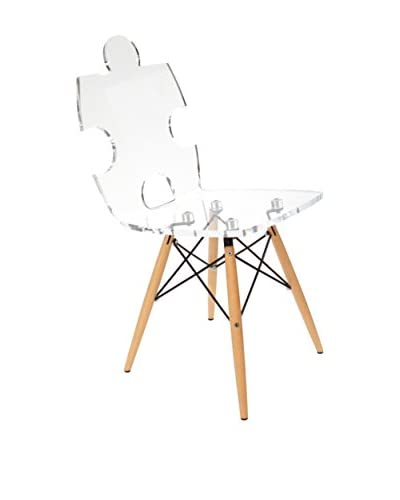 ACRILA Puzzle Chair, Clear