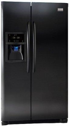 Frigidaire Gallery : FGHC2334KE 36 22.6 cu.ft. Counter-Depth Side by Side Refrigerator - Black