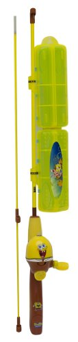 Zebco Spongebob Spincast 4' 2PC Fishing Rod and Reel Combo