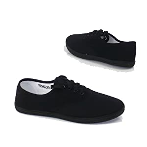 Garage Shoes - Canaria - Women's Flat Canvas Shoe