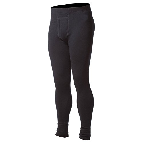 Minus33 100% Merino Wool Base Layer 706 MidWeight Bottoms Black Large