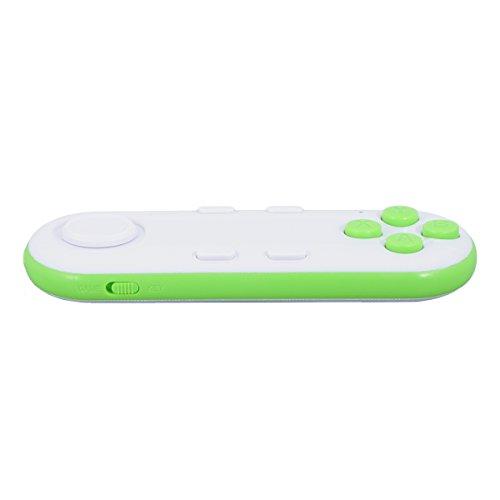 QUMOX Mini 3D VR senza fili GamePad Bluetooth per iOS sistema Android Verde Bianco