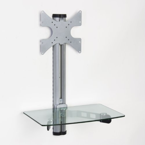 Displays2Go Vmws12Shcl 10-32 Inches Wall Mount Bracket For Lcd, Led Or Plasma Tv