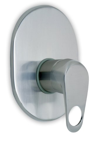 Ambassador Marine Nautilus Collection Shower Mixer, Brushed Nickel
