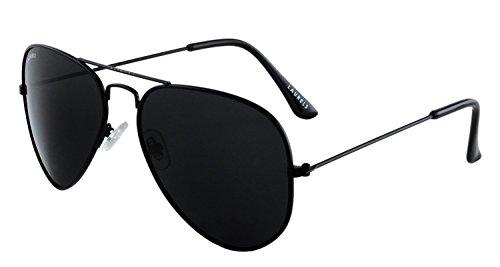 Laurels Aviator Sunglasses (Black ,Cl-0101C)