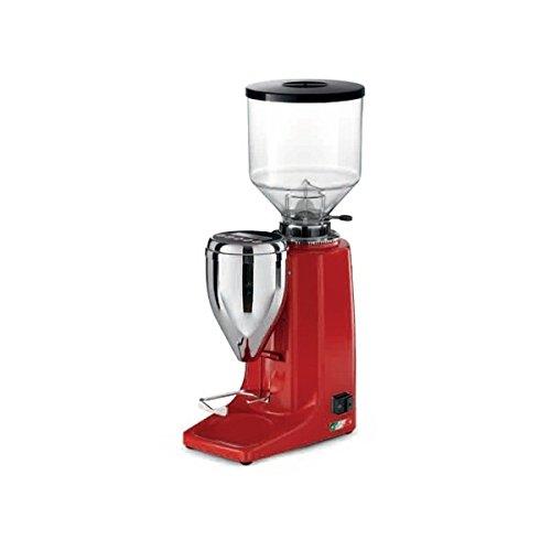 Quamar M80E Burr Coffee/Espresso Grinder - Red