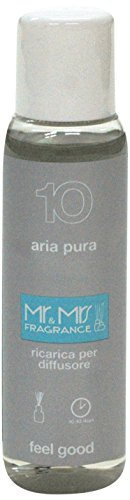 Mr&Mrs easy fragrance 010 Amazon aria pura 詰め替えボトル100ml