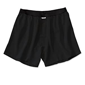 ExOfficio Men's Give-N-Go Boxer,Black,Small