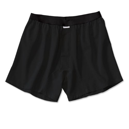 ExOfficio ExOfficio Men's Give-N-Go Boxer,Black,Medium