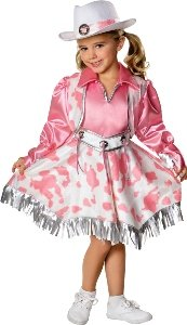 Western Diva Child Costume Size 4-6 Small