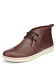 Blue Harbour Leather Chukka Boots