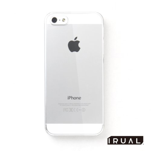 iPhone5 ケース カバー | Hard case for iPhone 5 クリア | IRUAL | IRIPH500-CLR 【製品保証付き】 【実機装着テスト済み】