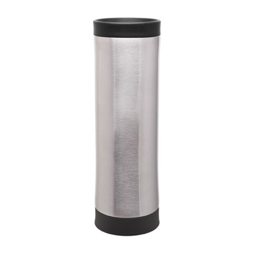 18/8 Stainless Travel Thermal Tumbler - Vacuum Insulated Double Wall - 16Oz. Capacity - Brushed Stainless front-764442