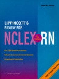 Lippincott's Review for Nclex-Rn/Book and Disk