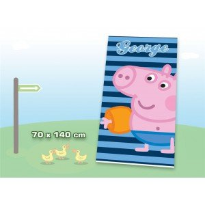 Peppa Pig OUT3492 - Telo Mare, 70 x 140 cm