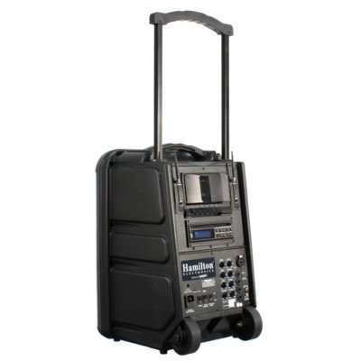 Wireless Portable Pa System With Cd / Dvd / Mp3 Player