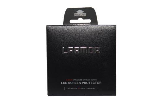 Larmor Self-Adhesive Glass Lcd Screen Protector+ Superfine Fiber Cloth For Nikon J3 Camera