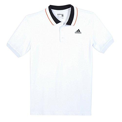 Adidas Uomo Polo, Uomo Taglia 6 Bianco
