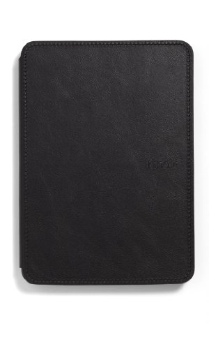 Kindle Touch Leather Cover, Black
