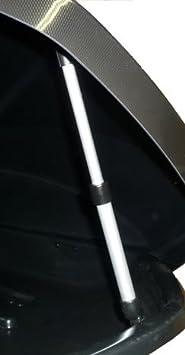 Autostyle Poign/ée en cuir pour frein /à main en aluminium et fibre