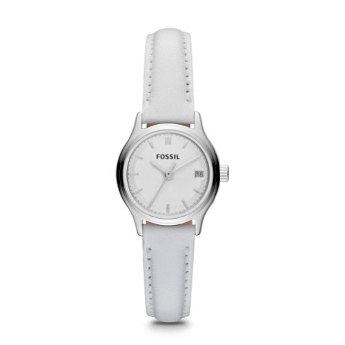 FOSSIL Archival Mini Leather Watch - White