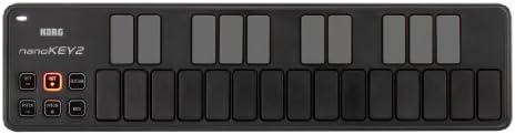 KORG USB MIDIキーボード NANOKEY2 ナノキー 25鍵 ブラック