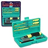 22 Piece Computer First Aid Kit Repair Fixing Tool Set in Storage Box