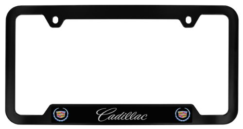 Cadillac License Finish Cutout Plastic