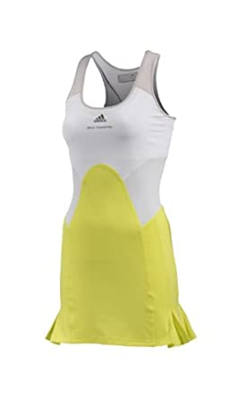 Adidas Ladies Stella McCartney Barricade Tennis Dress-RunYellow Powder by adidas