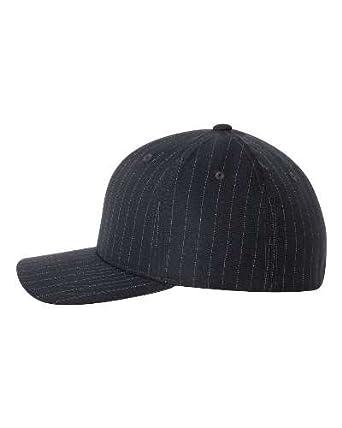 e33a02d632a Original Flexfit Pinstripe Hat Baseball Blank Cap Fitted Flex Fit 6195P