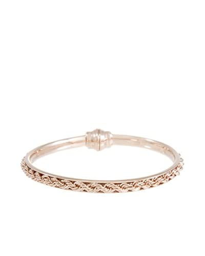 Milor Bronze Pulsera Cella Rosado