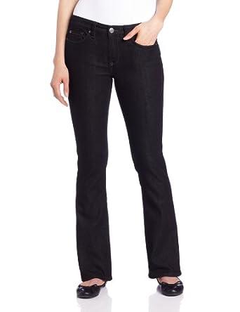 Calvin Klein Jeans Women's Ultimate Boot Jean, Black, 2x32